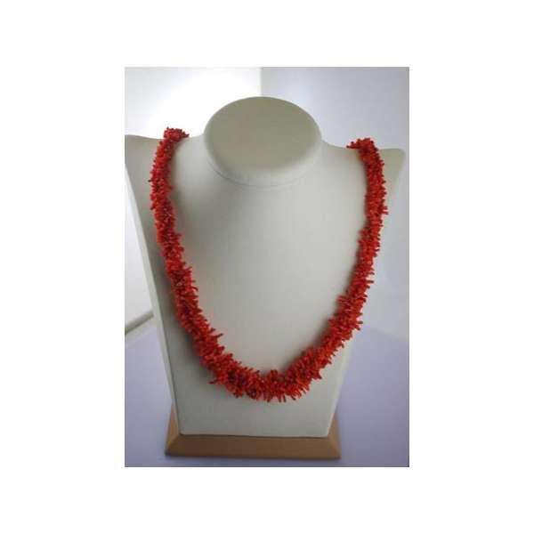 Collana di Corallo Rosso Naturale