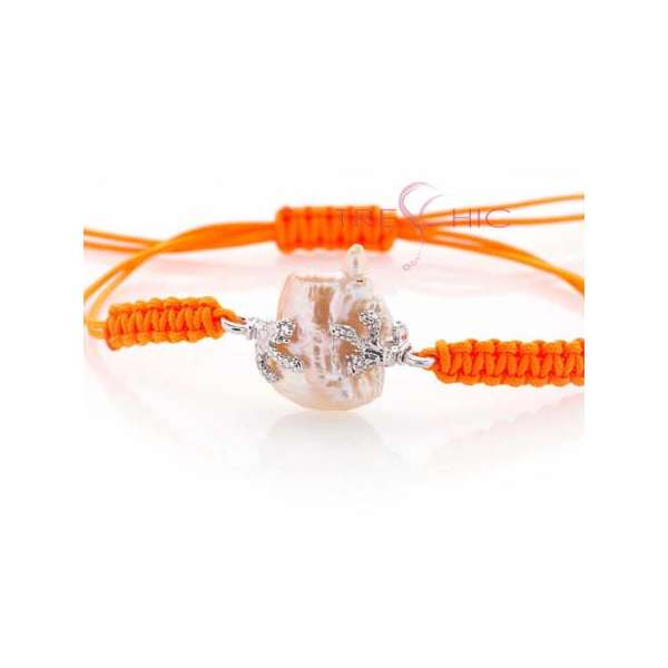 Bracciali con perla di fiume barocca-277