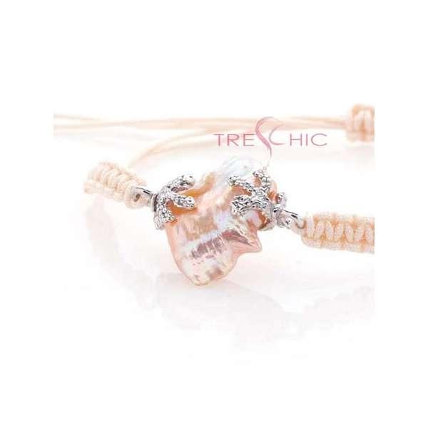 Bracciali con perla di fiume barocca-281
